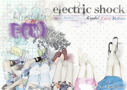 "[PRE-ORDER] The 2nd Mini Album F(X) – ""ELECTRIC SHOCK ... F(x) Electric Shock Album Cover"